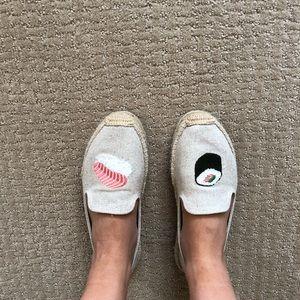 cacfc3423707 Soludos Shoes - Soludos platform espadrilles with sushi print